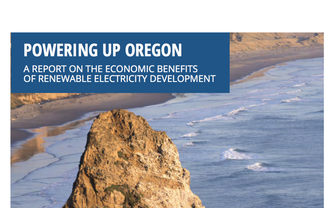 DGA Publishes Two New Reports on the Economic Benefits of Renewable Electricity Development in Oregon and Washington State