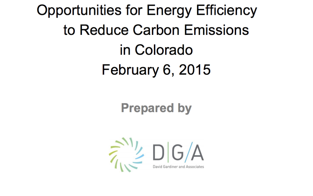 Colorado event highlights economic and environmental benefits of improved energy efficiency for Gov. Hickenlooper and business leaders
