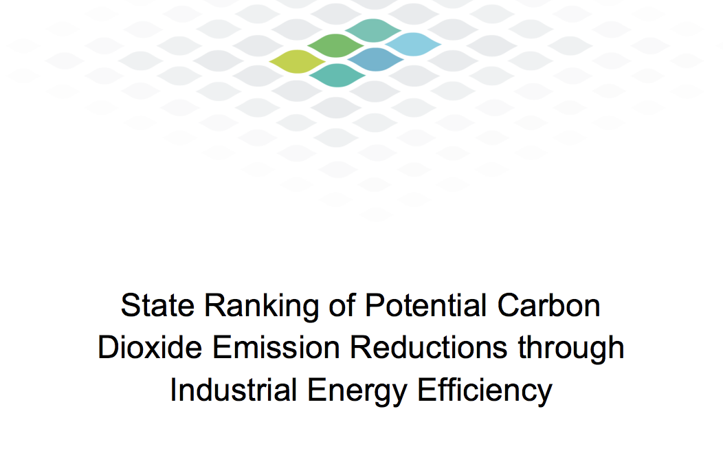 State Ranking of Potential Carbon Dioxide Emission Reductions through Industrial Energy Efficiency