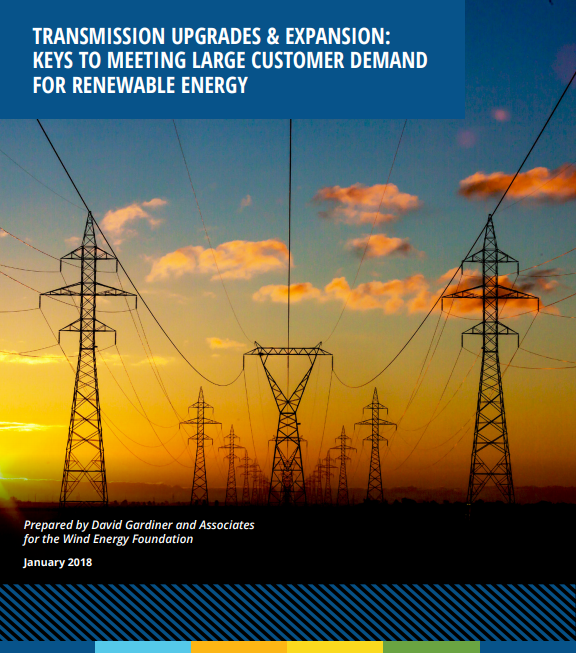 Transmission Upgrades & Expansion: Keys to Meeting Large Customer Demand for Renewable Energy
