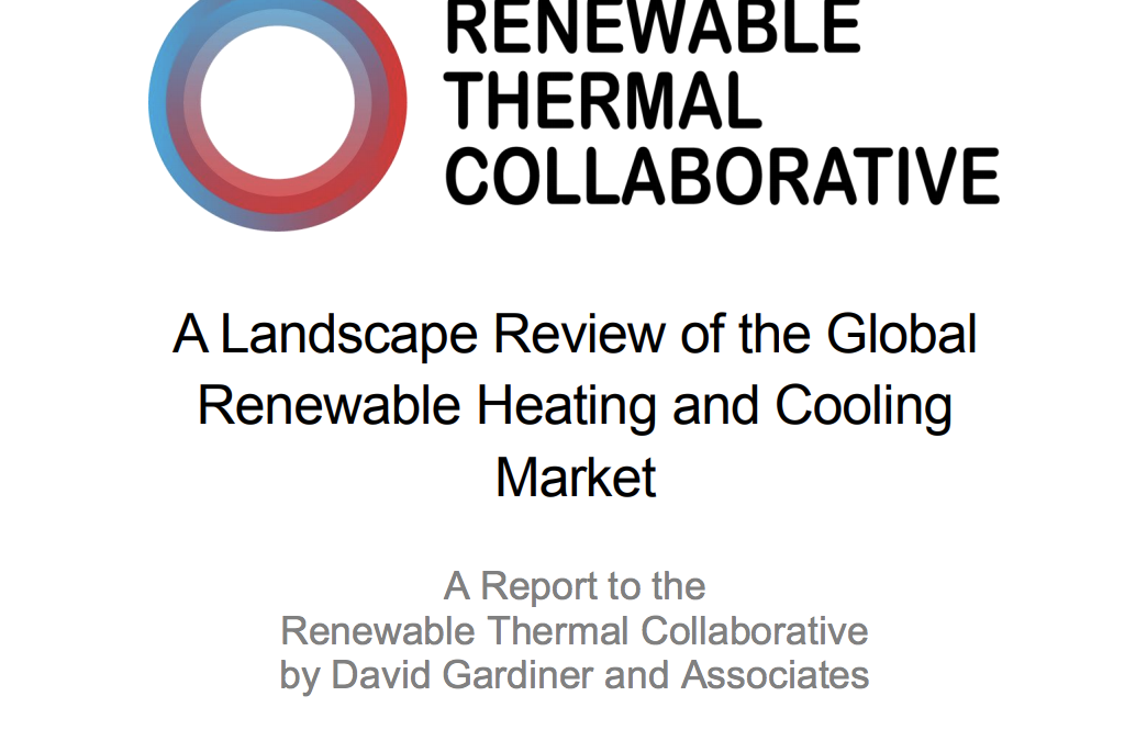 A Landscape Review of the Global Renewable Heating and Cooling Market