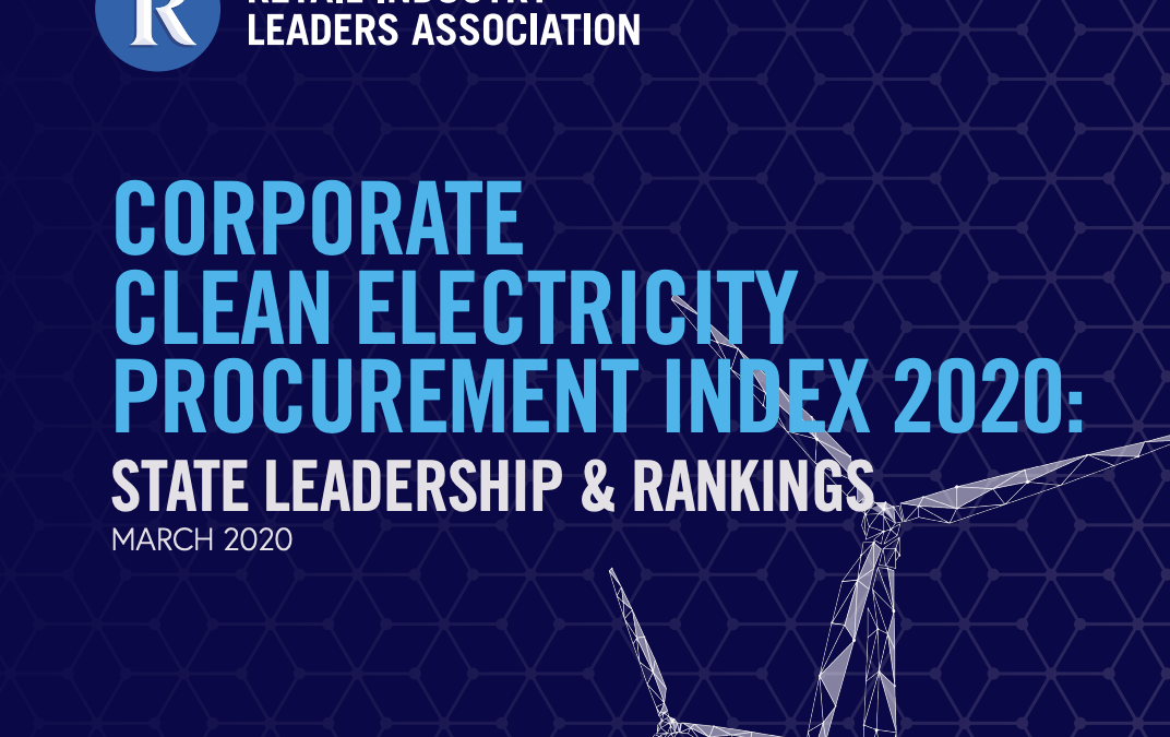 Corporate Clean Energy Procurement Index 2020: State Leadership & Rankings